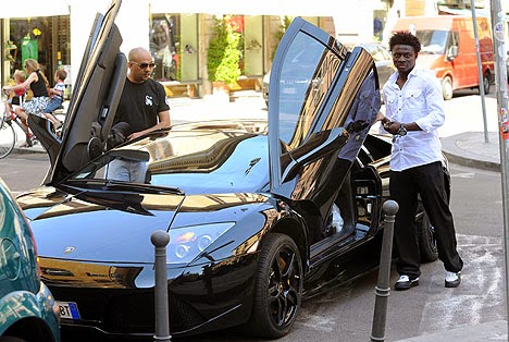 Meet the 3 top richest nigerian footballers and their for Garage auto legue langueux
